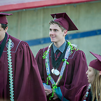 Evan Reed 2017 Riverside Prep High School Graduation, Adelanto Stadium, May 24, 2017. (Eric Reed)