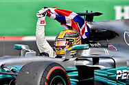 Lewis Hamilton has been named in the 'Paradise Papers' regarding the purchase of his Bombardier Challenger 605 private jet.<br /> Here pictured winning his fourth Formula One World Championship title on 29th October at Circuit Hermanos Rodriguez, Mexico City<br /> Picture by EXPA Pictures/Focus Images Ltd 07814482222<br /> 06/11/2017<br /> *** UK &amp; IRELAND ONLY ***<br /> <br /> EXPA-EIB-171030-0135.jpg
