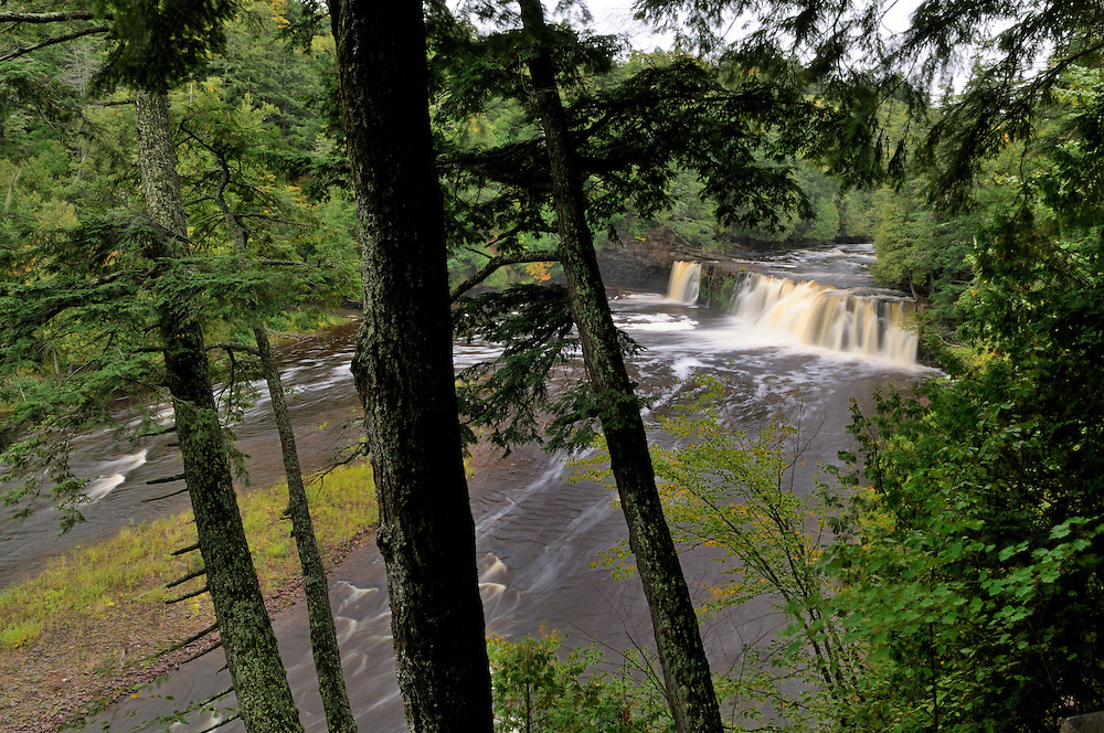 Manabezho Falls<br /> Porcupine Mountains,<br /> Michigan's Upper Peninsula