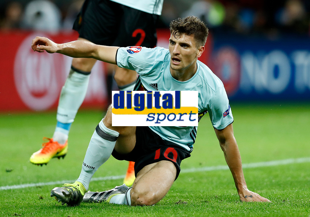 Thomas Meunier (Belgium)<br /> Lille 01-07-2016 Stade Pierre Mauroy Football Euro2016 Wales - Belgium / Galles - Belgio <br /> Quarter-finals. Foto Matteo Ciambelli / Insidefoto