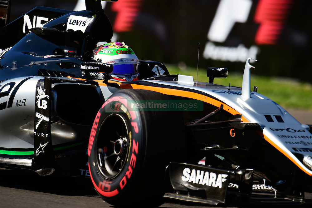 Sergio Perez (MEX) Sahara Force India F1 VJM09.<br /> 29.10.2016. Formula 1 World Championship, Rd 19, Mexican Grand Prix, Mexico City, Mexico, Qualifying Day.<br />  Copyright: Price / XPB Images / action press