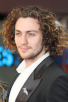 LONDON - SEPTEMBER 04: Aaron Taylor-Johnson attended the World Film Premiere of 'Anna Karenina' at the Odeon cinema, Leicester Square, London, UK. September 04, 2012. (Photo by Richard Goldschmidt)