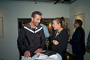 RUPERT EVERETT; TARA PALMER-TOMPKINSON, Book launch for 'Fashion Victims' the Catty Catalogue of Stylish Casualties by Michael Roberts. Hosted by Vanity Fair and Tim Jefferies. Hamiltons. London. 15 September 2008. *** Local Caption *** -DO NOT ARCHIVE-© Copyright Photograph by Dafydd Jones. 248 Clapham Rd. London SW9 0PZ. Tel 0207 820 0771. www.dafjones.com.