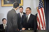 Defense Secretary Panetta and Army General Dempsey