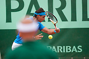 Roland Garros 2011. Paris, France. May 28th 2011..Spanish player Rafael NADAL against Ivan LJUBICIC