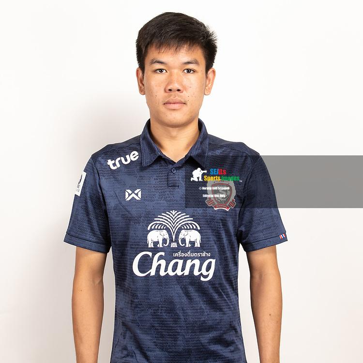 THAILAND - JUNE 07: Prasid Jantum #8 of Suphan Buri FC on June 07, 2019.<br /> .<br /> .<br /> .<br /> (Photo by: Naratip Golf Srisupab/SEALs Sports Images/MB Media Solutions)