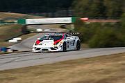 October 3-5, 2013. Lamborghini Super Trofeo - Virginia International Raceway. #93 Henrique Cisneros/Eduardo Cisneros, Mitchum Racing, Lamborghini of Dallas