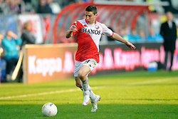 08-11-2009 VOETBAL: FC UTRECHT - HEERENVEEN: UTRECHT<br /> Utrecht verliest met 3-2 van Heerenveen / Dries Mertens<br /> ©2009-WWW.FOTOHOOGENDOORN.NL