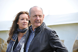 CAROL WEATHERALL and RON DENNIS at a luncheon hosted by Cartier for their sponsorship of the Style et Luxe part of the Goodwood Festival of Speed at Goodwood House, West Sussex on 1st July 2012.