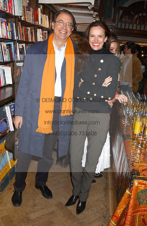 ALEXANDER APSIS and BETTINA VON HASE at a party to celebrate the publicarion of The Meaning of Tingo by Adam Jacot de Boinod held at the Daunt Bookshop, 83 Marylebone High Street, London on 18th October 2005.<br /><br />NON EXCLUSIVE - WORLD RIGHTS