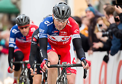 Jure Golcer of KK Adria Mobil during the UCI Class 1.2 professional race 3rd Grand Prix Izola, on February 28, 2016 in Izola / Isola, Slovenia. Photo by Vid Ponikvar / Sportida