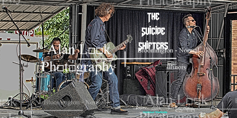 Make Music Normal festival - Uptown Normal<br /> <br /> The Suicide Shifters:<br /> B. Rad Joseph -Lead Vocals, Lead Guitar<br /> Fernando - Doghouse Bass<br /> Michael T. - Drums