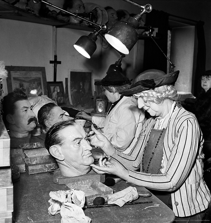 Making Waxworks at Madame Tussauds, London, 1935