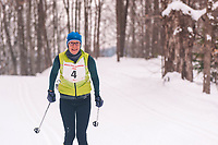 The Annual Whitepine Stampede at Schuss Mountain Shanty Creek Resport and Spa on February 2, 2019. Racer Lynn Brach races the 45k at the Annual White Pine Stampede at Schuss Mountain Shanty Creek Resort and Spa on February 2, 2019.