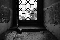 Looking Out A Chenonceau Castle Window - Chenonceau, Loire Valley, France, July 2017
