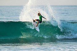 Santiago Muniz (ARG) advances to Round 3 of the 2018 Ballito Pro pres by Billabong after placing second in Heat 10 of Round 2 at Ballito, South Africa.