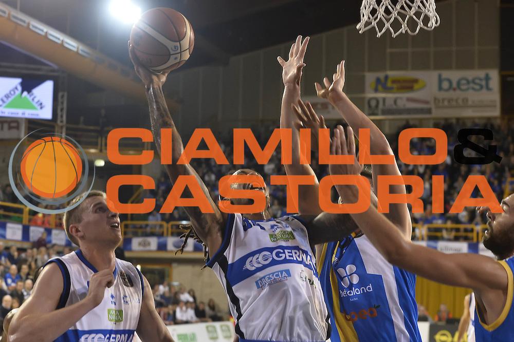 David Moss<br />Germani Basket Brescia - Betaland Capo D'Orlando<br />LegaBasket 2016/2017<br />Brescia 05/11/2016<br />Foto Ciamillo-Castoria