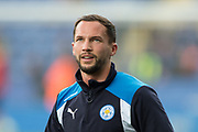 Leicester City midfielder Danny Drinkwater (4) during the Premier League match between Leicester City and Stoke City at the King Power Stadium, Leicester, England on 1 April 2017. Photo by Jon Hobley.
