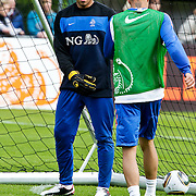 AUS/Seefeld/20100529 - Training NL Elftal WK 2010, keeper Michel Vorm