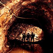 Extracci&oacute;n de oro<br /> Cliente:Minera el Indio <br /> IV regi&oacute;n
