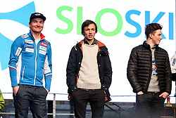 Rok Marguc, snowboarder  during reception of Slovenian Winter athletes after the end of season 2015/16, on March 22, 2016 in Kongresni trg, Ljubljana, Slovenia. Photo by Matic Klansek Velej / Sportida