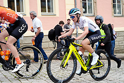 Anna Christian (GBR) in the break at Lotto Thüringen Ladies Tour 2019 - Stage 4, a 114.8 km road race in Gotha, Germany on May 31, 2019. Photo by Sean Robinson/velofocus.com