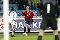Fotball, 28. april 2004, Privatlandskamp, Norge-Russland, Jan Gunnar Solli, Norge