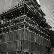 Ian Schrager designed Marriott Edition Hotel 701 7th Aveune under contruction in New York City's Times Sqaure