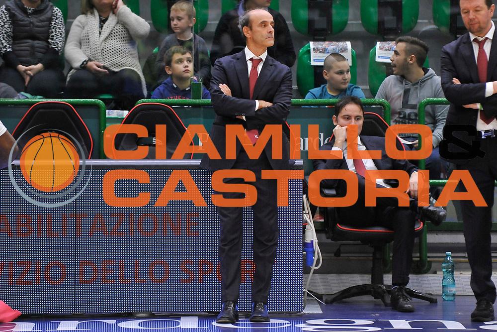 DESCRIZIONE : Campionato 2015/16 Serie A Beko Dinamo Banco di Sardegna Sassari - Consultinvest VL Pesaro<br /> GIOCATORE : Riccardo Paolini<br /> CATEGORIA : Before Pregame<br /> SQUADRA : Consultinvest Pesaro<br /> EVENTO : LegaBasket Serie A Beko 2015/2016<br /> GARA : Dinamo Banco di Sardegna Sassari - Consultinvest VL Pesaro<br /> DATA : 23/11/2015<br /> SPORT : Pallacanestro <br /> AUTORE : Agenzia Ciamillo-Castoria/C.Atzori