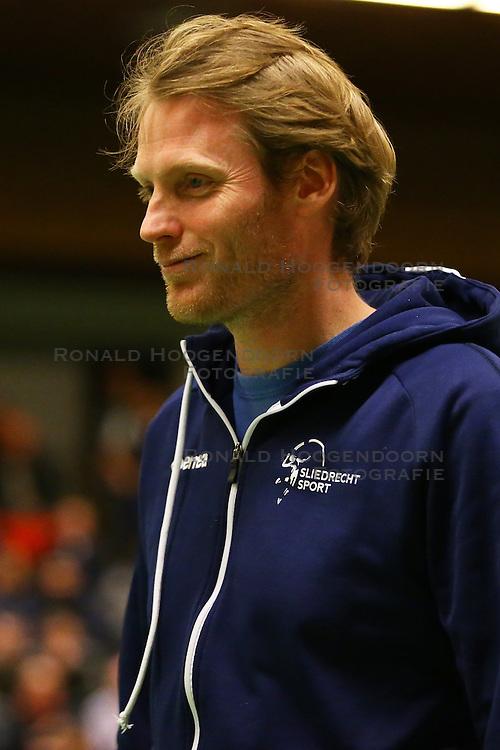 20160319 NED: Volleybal: Sliedrecht Sport - Springendal Set Up 65, Sliedrecht<br />Matt van Wezel