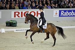 Schreven Jenny (NED) - Krawall<br /> Reem Acra FEI World Cup Dressage<br /> CDI-W 'S Hertogenbosch 2011<br /> © Dirk Caremans