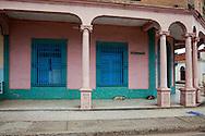 Building in Mayari, Holguin, Cuba.
