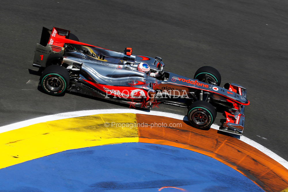 Motorsports / Formula 1: World Championship 2010, GP of Europe, 01 Jenson Button (GBR, Vodafone McLaren Mercedes),