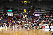 "The student section was virtually empty during he Ole Miss vs. LSU game  at the C.M. ""Tad"" Smith Coliseum in Oxford, Miss. on Saturday, February 25, 2012. (AP Photo/Oxford Eagle, Bruce Newman)..."