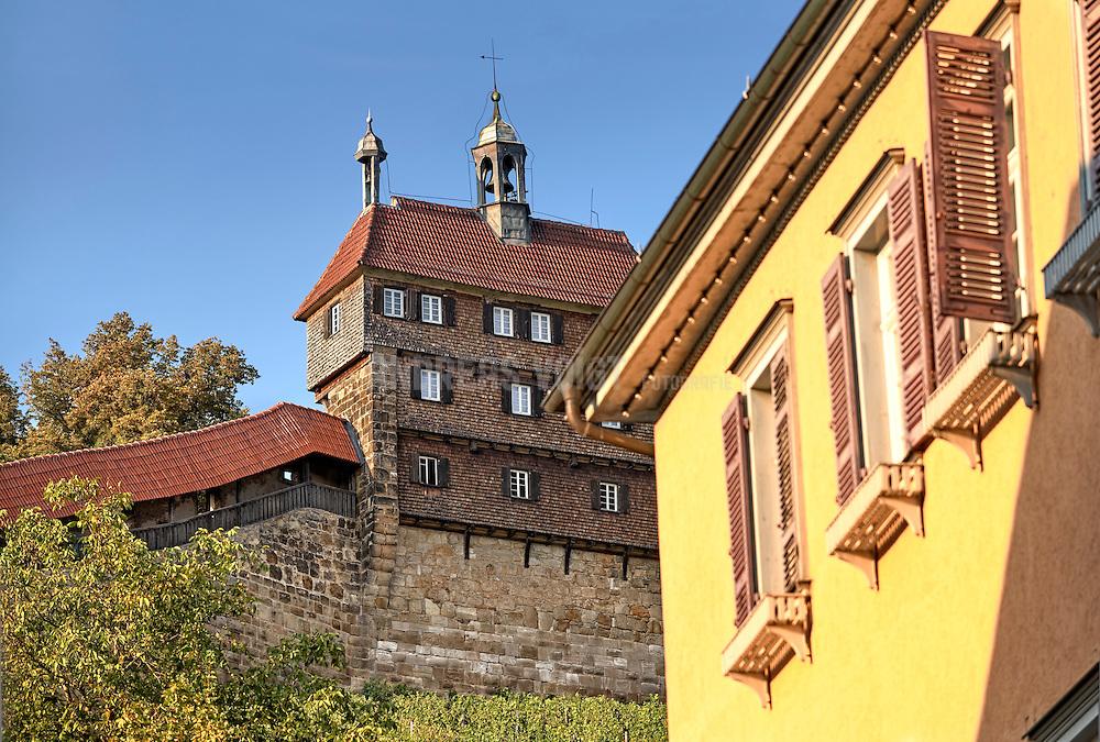 Die Hochwacht der Burg