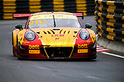 Earl BAMBER, NZL, Manthey-Racing Porsche 911 GT3 R <br /> <br /> 65th Macau Grand Prix. 14-18.11.2018.<br /> SJM Macau GT Cup - FIA GT World Cup. <br /> Macau Copyright Free Image for editorial use only