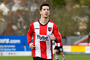 Goalscorer Lloyd James (4) of Exeter City during the EFL Sky Bet League 2 match between Exeter City and Wycombe Wanderers at St James' Park, Exeter, England on 10 February 2018. Picture by Graham Hunt.