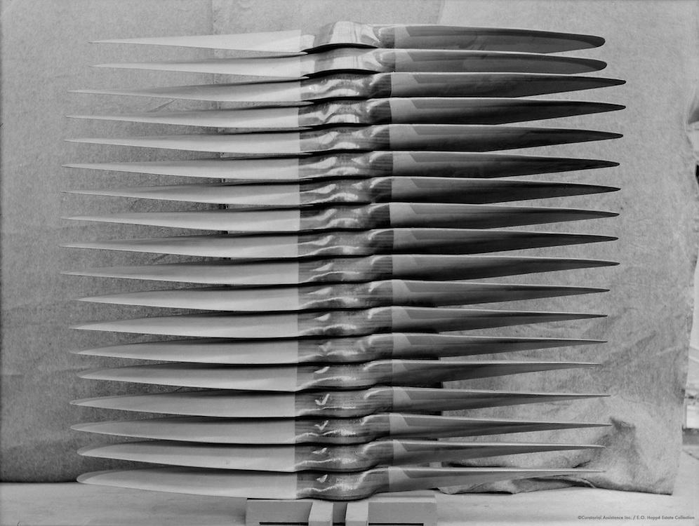 Stack of Propellors, De Havilland Aircraft Factory, England, 1935