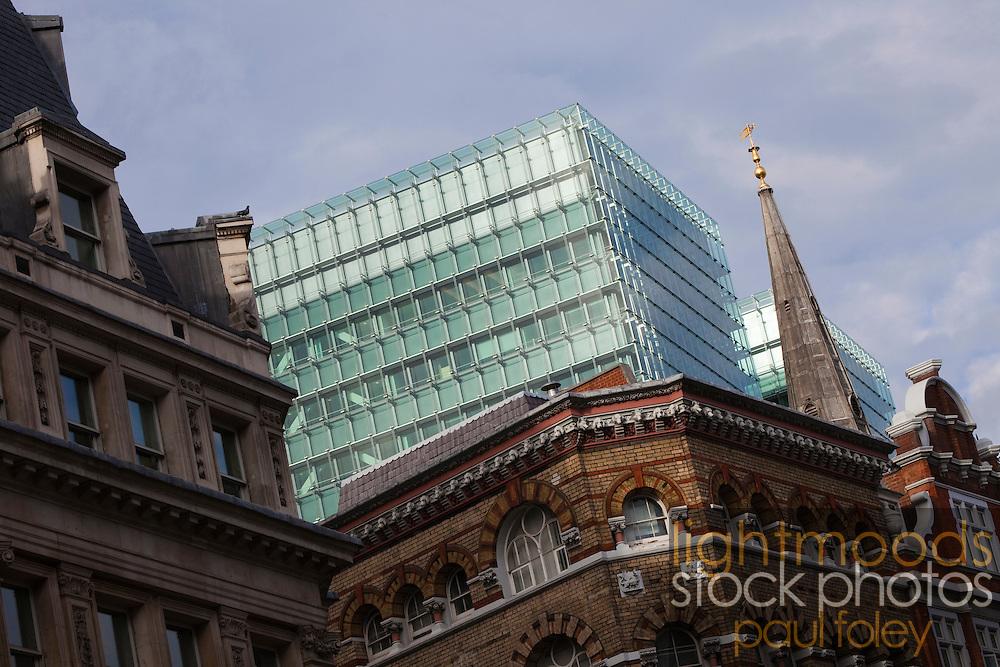 Modern and historic Architecture, London, UK