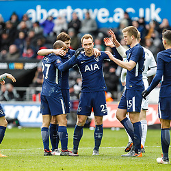 17,03,2018  Emirates FA Cup Swansea City and Tottenham Hotspur