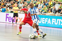 Benfica's and Pescara's  during UEFA Futsal Cup 2015/2016 3º/4º place match. April 22,2016. (ALTERPHOTOS/Acero)