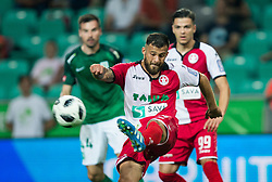 Mario Lucas Horvat of NK Aluminij during football match between NK Aluminij and NK Olimpija Ljubljana in the Final of Slovenian Football Cup 2017/18, on May 30, 2018 in SRC Stozice, Ljubljana, Slovenia. Photo by Vid Ponikvar / Sportida