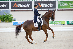 Fabienne Lutkemeier, (GER), D'Agostino FRH - Grand Prix Team Competition Dressage - Alltech FEI World Equestrian Games™ 2014 - Normandy, France.<br /> © Hippo Foto Team - Leanjo de Koster<br /> 25/06/14