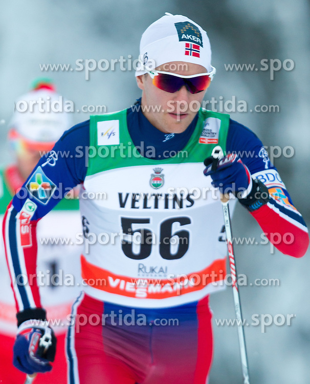 30.11.2014, Nordic Arena, Ruka, FIN, FIS Weltcup Langlauf, Kuusamo, 15 km Herren, im Bild Didrik Toenseth (NOR) // Didrik Toenseth of Norway during Mens 15 km Cross Country Race of FIS Nordic Combined World Cup at the Nordic Arena in Ruka, Finland on 2014/11/30. EXPA Pictures © 2014, PhotoCredit: EXPA/ JFK