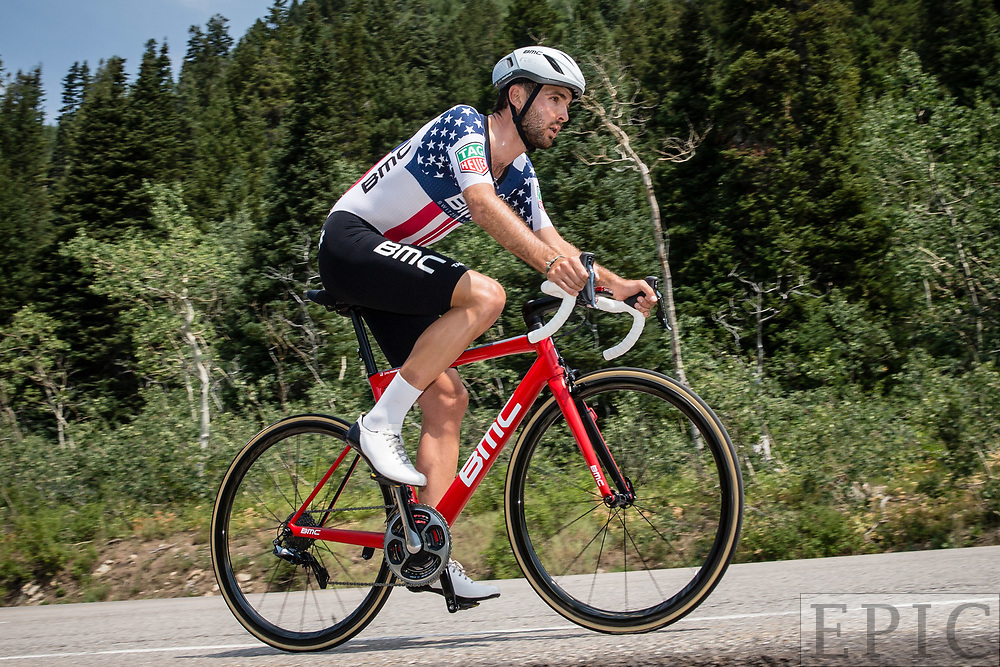 Cycling: Larry H. Miller Tour of Utah 2017 / Stage 3 - Joey Rosskopf (BMC), 4th place.<br /> <br /> Big Cottonwood Canyon (9km) / TOU / ITT / Individual Time Trial / Utah  <br /> &copy; Jonathan Devich