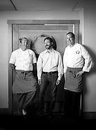 Left to right: Taylor Hale,  Jonathan Sundeen, Peter Coyne.