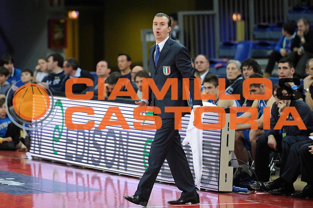 DESCRIZIONE : Pesaro Edison All Star Game 2012<br /> GIOCATORE : Simone Pianigiani<br /> CATEGORIA : coach<br /> SQUADRA : Italia Nazionale Maschile<br /> EVENTO : All Star Game 2012<br /> GARA : Italia All Star Team<br /> DATA : 11/03/2012 <br /> SPORT : Pallacanestro<br /> AUTORE : Agenzia Ciamillo-Castoria/C.De Massis<br /> Galleria : FIP Nazionali 2012<br /> Fotonotizia : Pesaro Edison All Star Game 2012<br /> Predefinita :