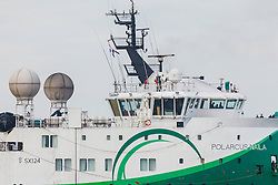 Polarcus Naila, 9538098, 12 streamer Seismic vessel