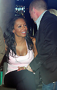 01.SEPTEMBER.2009 - LONDON<br /> <br /> EX-SPICE GIRL MEL B SITTING AT THE BAR OF THE MAYFAIR HOTEL FOR 2 HOURS DRINKING AND TALKING TO FELLOW DRINKERS AND HAVING HER PICTURE TAKEN WITH THEM BEFORE MEL STARTED PLANTING KISSES ON PEOPLE BUT SAVED A BIG SNOG FOR HUSBAND STEPHEN BEFORE LEAVING AND GOING UP TO THEIR ROOM A LITTLE BIT WORSE FOR WEAR.<br /> <br /> BYLINE: BLOOMS/EDBIMAGEARCHIVE.COM<br /> <br /> *THIS IMAGE IS STRICTLY FOR UK NEWSPAPERS & MAGAZINES ONLY*<br /> *FOR WORLDWIDE SALES OR WEB USE PLEASE CONTACT EDBIMAGEARCHIVE - 0208 954 5968*