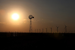 Windmills in Vegas, Texas